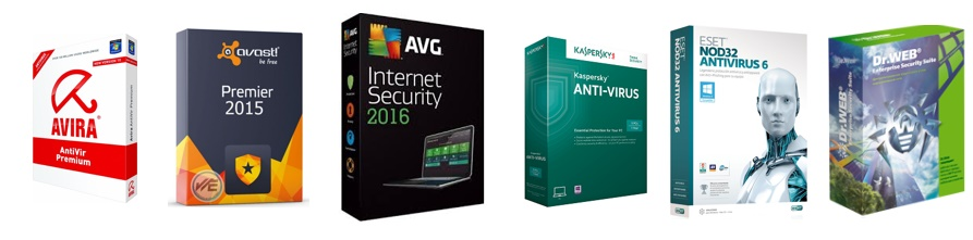 Seriales para ESET, Kaspersky, Avast, Dr.Web, Avira